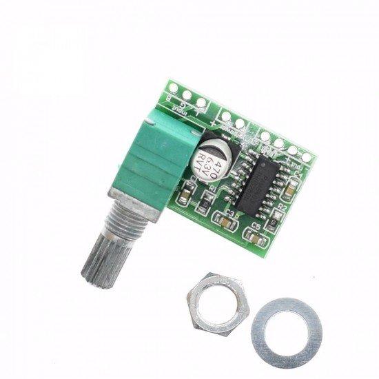 PAM8403 Mini 5V Power Amplifier Board Support USB Power Supply 3W+3W