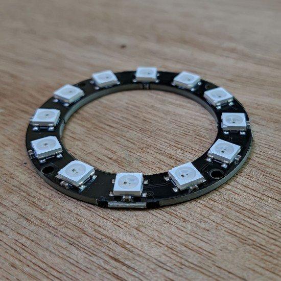 RGB LED RING 12BIT WS2812 5050 RGB LED + INTEGRATED DRIVERS