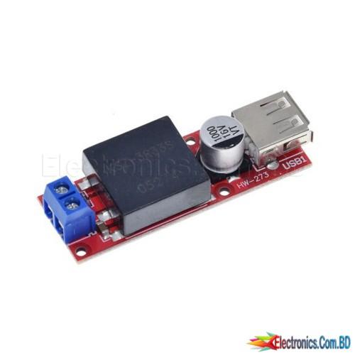 5V USB Output Converter DC 7V-24V To 5V 3A Step-Down Buck KIS3R33S Module KIS-3R33S