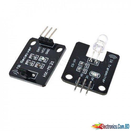 1set 38KHz IR Infrared Transmitter Module IR Digital Infrared Receiver Sensor Module For Arduino Electronic Building Block