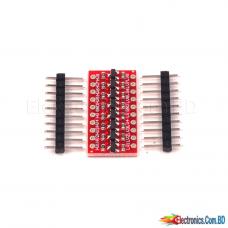 8-bit Bidirectional Voltage Level Shifter High Speed Full Duplex Bidirectional Level Shifter Module Connector