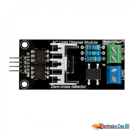AC Light Dimmer Module, 1 Channel, 3.3V/5V logic, AC 50/60hz, 220V/110V