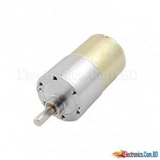 12V DC 150 RPM Powerful High Torque Motor Gear Box Electric Motor