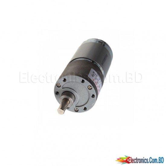 Robot Replacement 12V 30rpm DC Gear Box Electric Little Motor 37mm High Torque