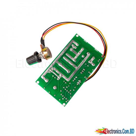 DC Motor Speed Controller 12V 24V 36V 48V 20A Current Regulator PWM Speed Adjustable Stepless Governor High-power Motor Drive Module Variable Speed Regulator