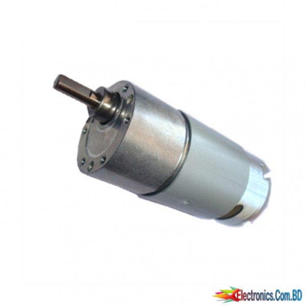 12V 30 RPM High Torque DC Gear Motor 37GB555