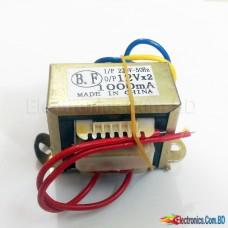 12-0-12 Volt 1Amp Transformer