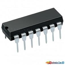 7404 / 74HC04 / 74LS04 Hex Inverters DIP14
