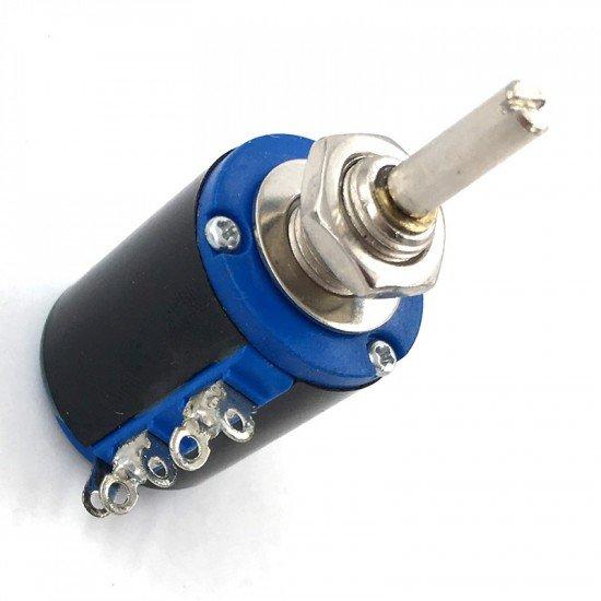 1K Ohm Rotary Multiturn Wirewound Potentiometer WXD3-13-2W