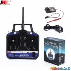 FlySky FS-CT6B CT6B 2.4G 6CH Radio Set System RC 6CH Transmitter + 6CH Receiver