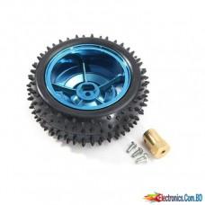 Car Robot Wheel Plastic Tire (85mm)