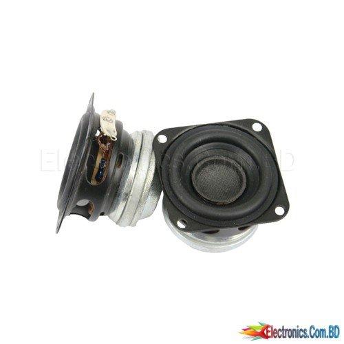 1.5 inch 40MM Full Range Speaker 4OHM 10W Bass Neodymium Home-made Portable Bluetooth Speaker HIFI For link DIY 2PCS
