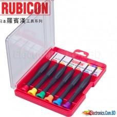 Rubicon Screwdriver 6 Piece Set NO.RES-202