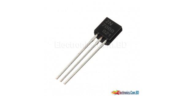 2n7000 fairchild semiconductor